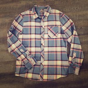 Men's 1901 Nordstrom button down plaid shirt XL
